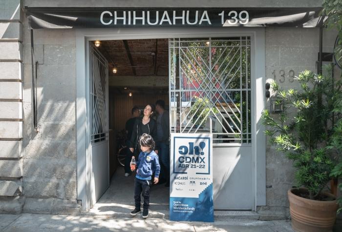 CH139  Cadaval Solá-Morales, ReUrbano 2016.  Chihuahua 139, Rom